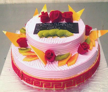 Picture of Radisson Strawberry Cream Cake Double Deck (3 Kg)