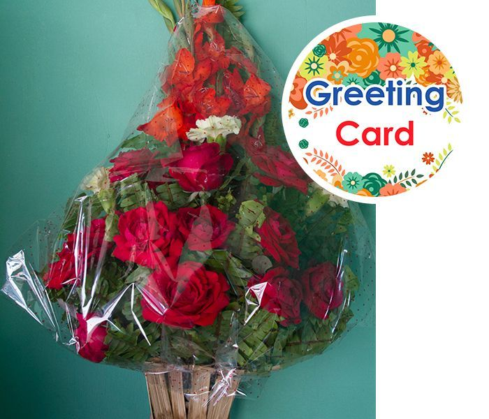 Flower Bouquet Large Size with Card. Online Gift 2 Nepal : Send Gift ...