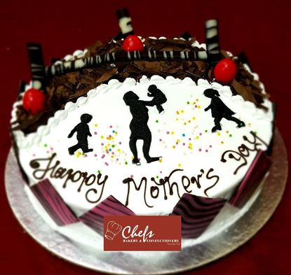 Picture of Chefs Bakery Mothers Day Special Black Forest Cake