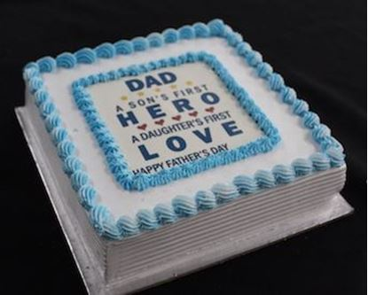 Picture of Annapurna Fathers Day Printed Cake 2LB
